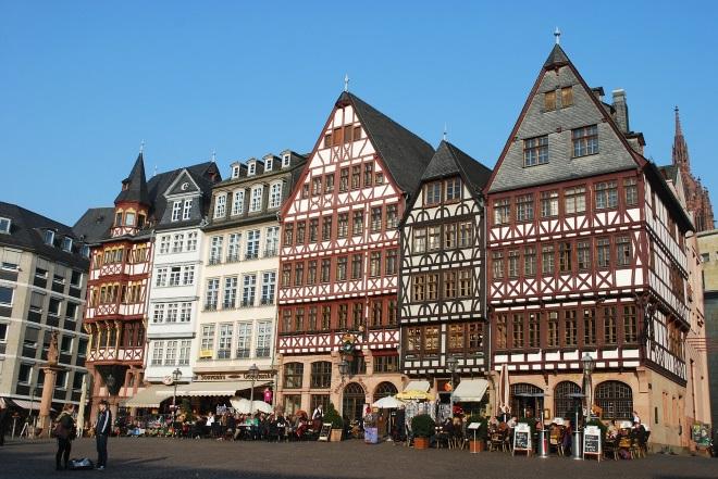 Plaza Römerberg, en Frankfurt