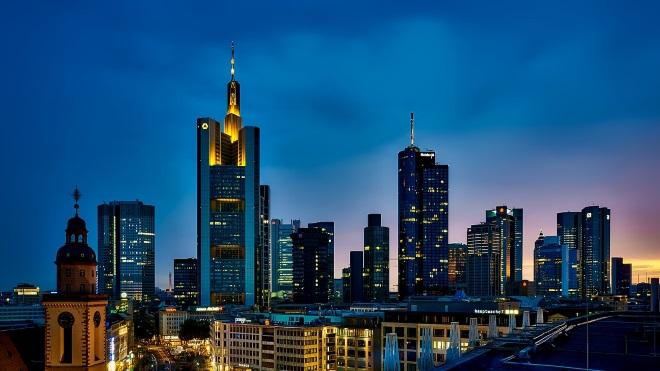 El skyline de Frankfurt