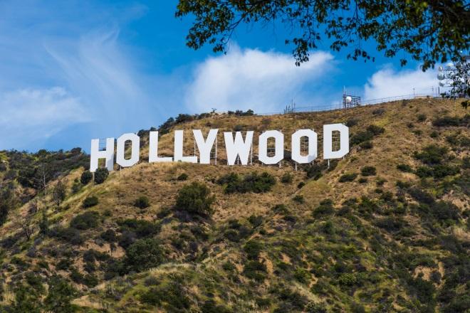 El célebre letrero Hollywood, en Los Ángeles