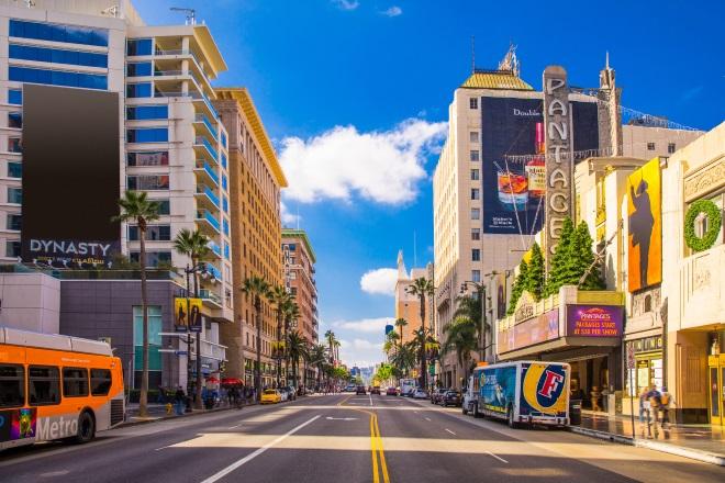 Sunset Strip, en Los Ángeles