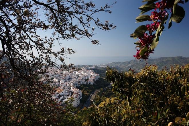 El pueblo de Frigiliana, en la localidad de Málaga