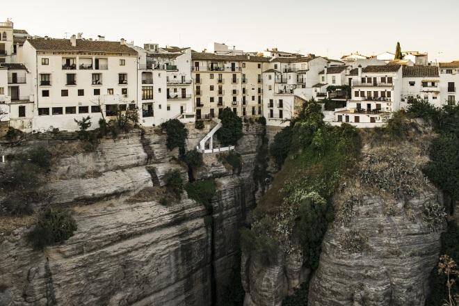 El pueblo de Ronda, en la provincia de Málaga