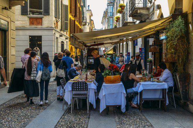 Barrio de Brera, en Milán
