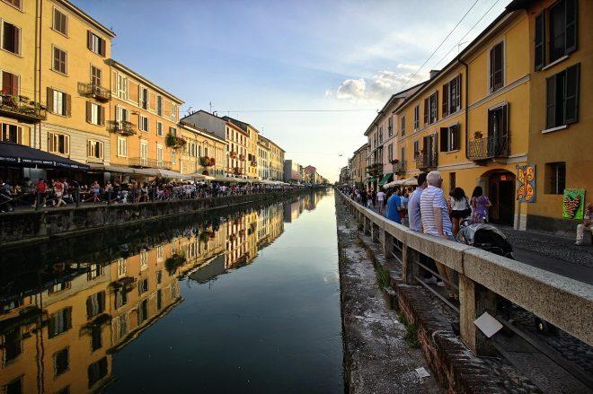 El barrio Navigli (Milán)