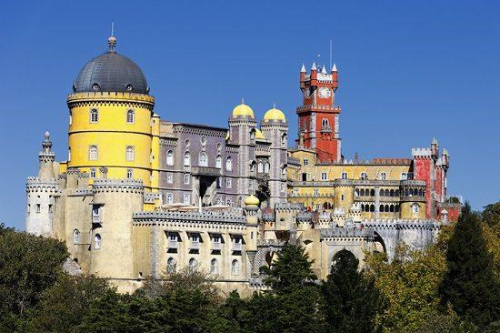 Palacio da Pena, en Sintra.