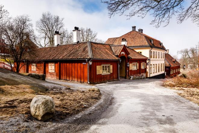 Skansen, museo al aire libre en Estocolmo