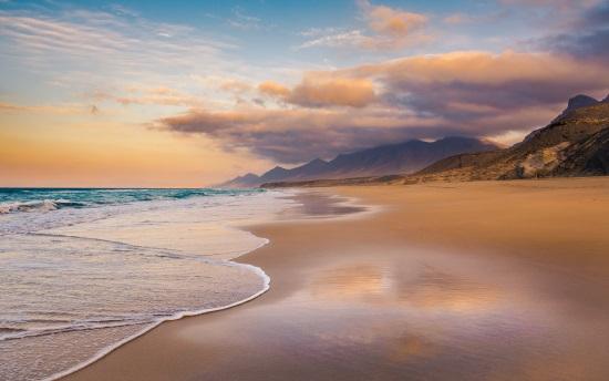 La Playa de Cofete, en Fuerteventura
