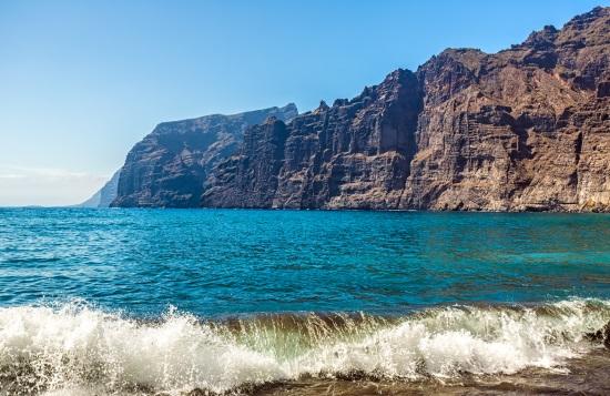 Los acantilados de los Gigantes, en Tenerife