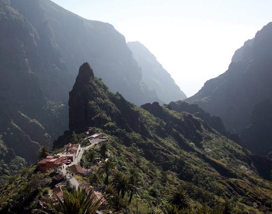 La localidad de Masca, en Tenerife