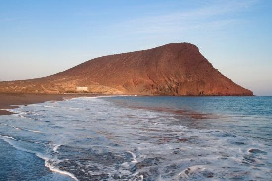 La Montaña Roja, en Tenerife