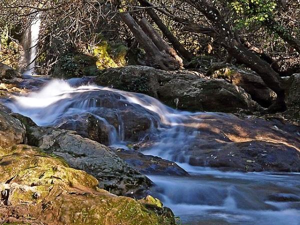 Cascadas del Hueznar, en la provincia de Sevilla