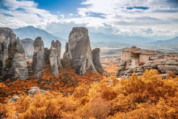 Meteora, en Grecia