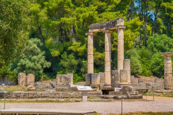 Olimpia, en Grecia