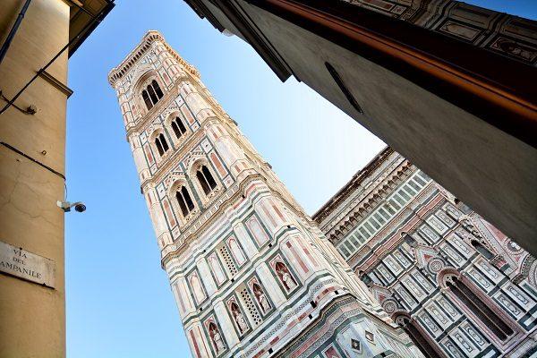 Campanile de Giotto, en Florencia