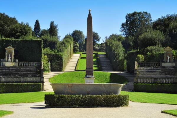 Jardines Boboli, en Florencia