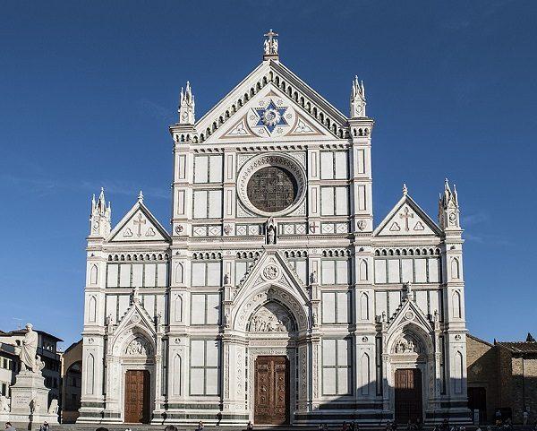 Basílica de Santa Croce, en Florencia