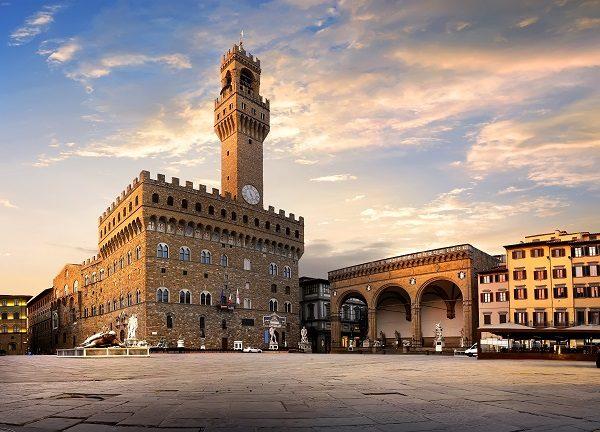 Piazza della Signoria, en Florencia