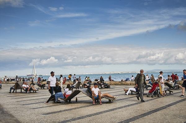 Cais do Sodré, en Lisboa