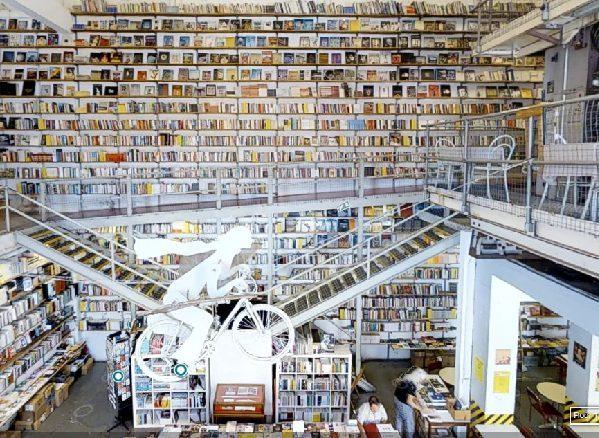 Ler Devagar, librería de Lisboa