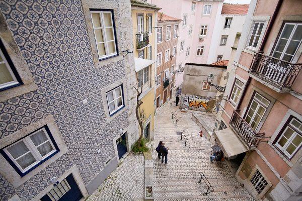 El barrio lisboeta de Mouraría
