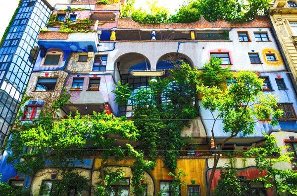 Edificio Hundertwasser, en Viena