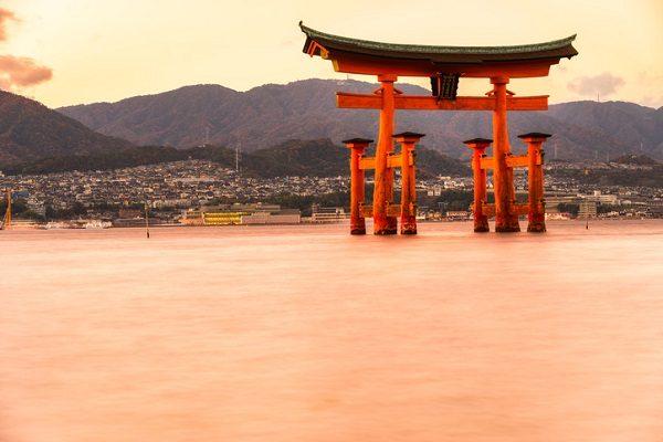 Miyajima, isla de Japón.