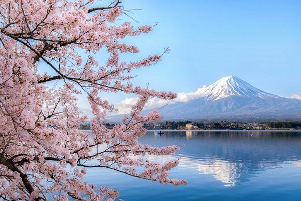 El emblemático Monte Fuji, en Japón