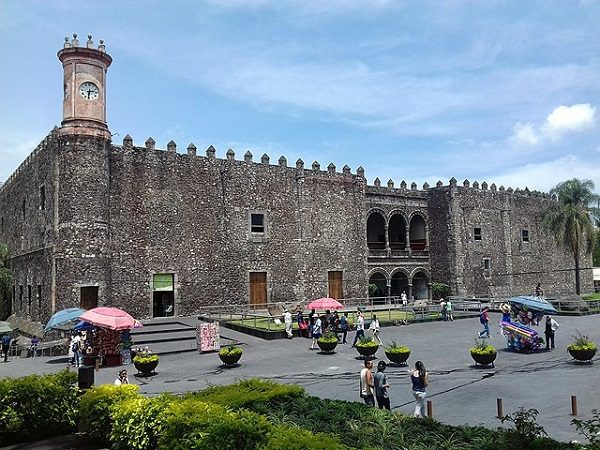Palacio de Cortés en Cuernavaca (México)
