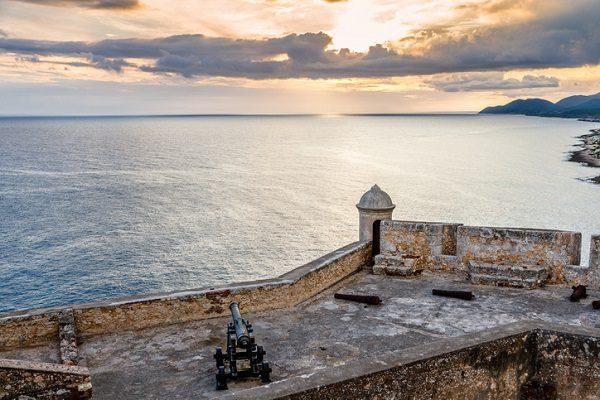 Vistas al mar en Santiago de Cuba