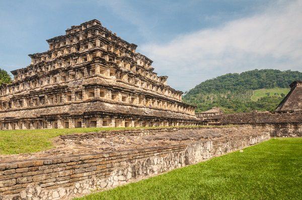 Sitio arqueológico de El Tajín, en Veracruz