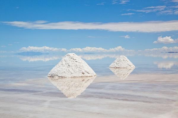 Salar de Uyuni (Bolivia).