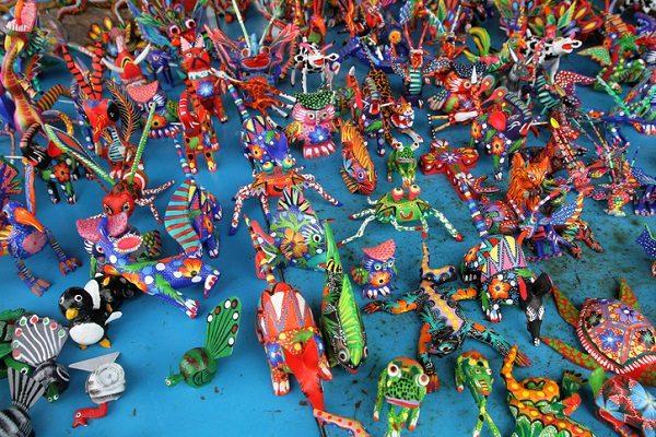 Alebrijes, artesanía mexicana