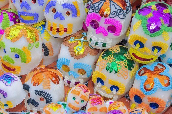 Calaveras de azúcar mexicanas