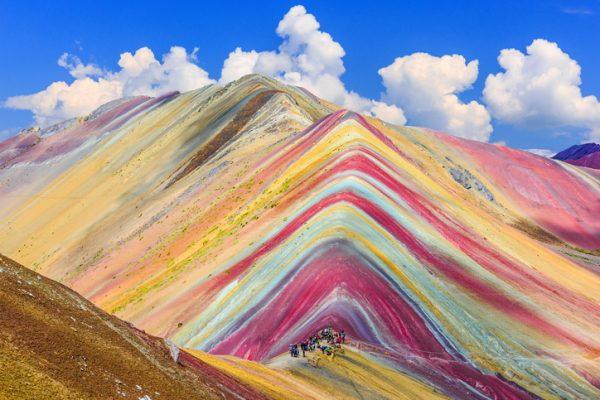 Montañas de Vinicunca (Perú)