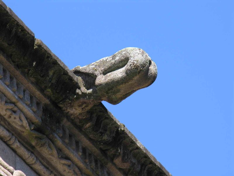 Gárgola de San Martín Pinario (Santiago de Compostela)