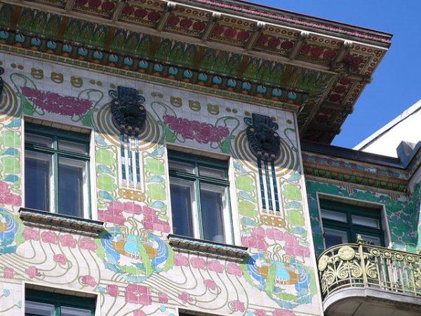Majolica House, en Viena