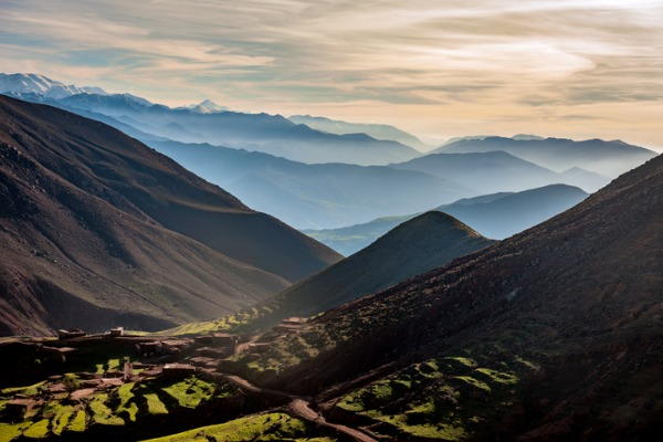 Cordillera de Atlas (Marruecos)