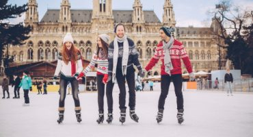 Las mejores pistas de hielo al aire libre del mundo