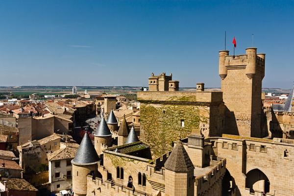 Castillo de Olite, en Navarra