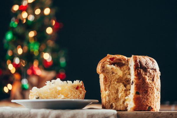 El panettone, dulce navideño en Italia