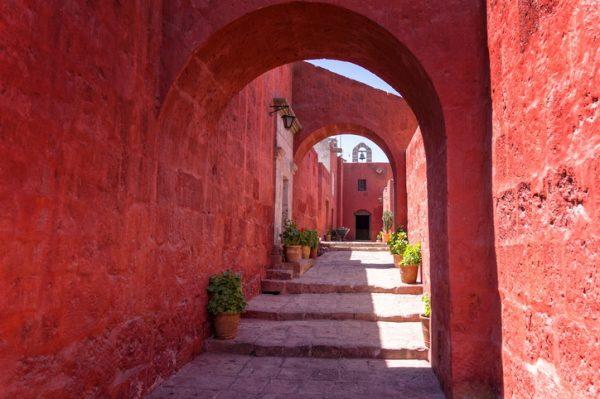Monasterio de Santa Catalina, en Arequipa (Perú)