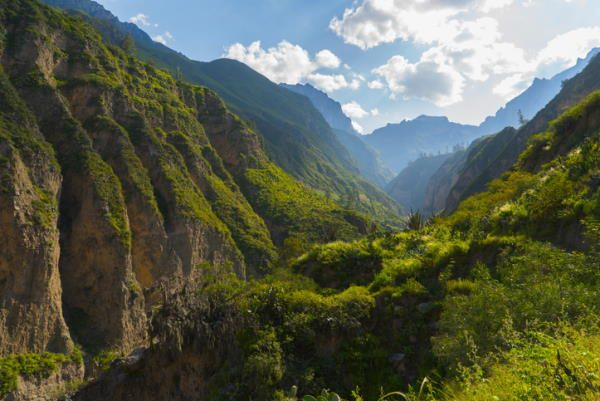 Cañón de Colca, en Perú