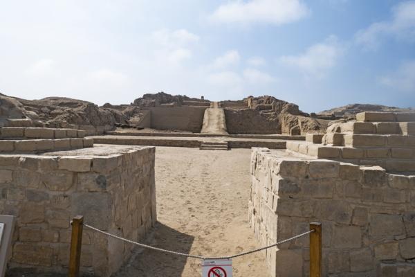 Sitio arqueológico de Pachacámac (Perú)