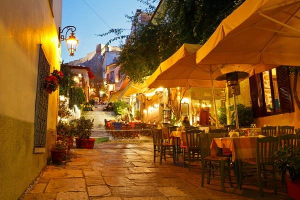 Barrio de Plaka, Atenas