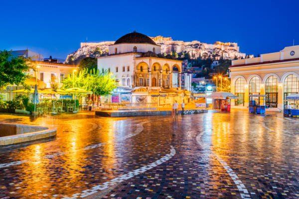 Barrio Monastiraki, en Atenas