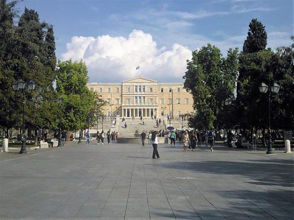 Plaza Sintagma, en Atenas