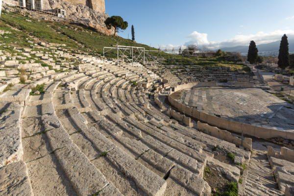 Teatro de Dioniso, en Atenas