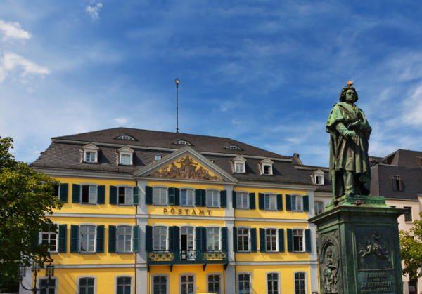 Escultura de Beethoven, en Bonn