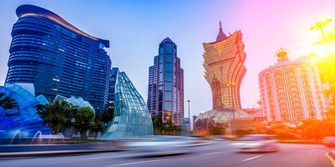 Vista urbana de Macao