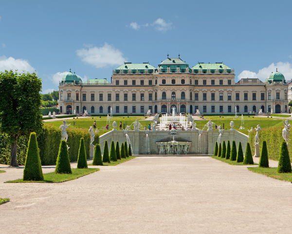 Palacio Belvedere, en Viena